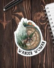 Sticker - Camping - Wander Woman Sticker - Single (Vertical) aos-sticker-single-vertical-lifestyle-front-05
