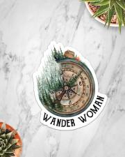 Sticker - Camping - Wander Woman Sticker - Single (Vertical) aos-sticker-single-vertical-lifestyle-front-06