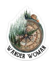 Sticker - Camping - Wander Woman Sticker - Single (Vertical) front