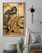 Motorcycle Strong Girl 11x17 Poster lifestyle-poster-1