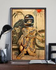Motorcycle Strong Girl 11x17 Poster lifestyle-poster-2