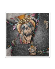 Skull Feather Sticker - Single (Vertical) thumbnail
