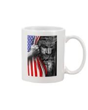 Jesus - Hate has no home here Flag Mug tile