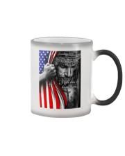 Jesus - Hate has no home here Flag Color Changing Mug tile