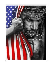 Jesus - Hate has no home here Flag Sticker tile