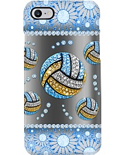 Volleyball - Blue Phonecase 15 Phone Case i-phone-8-case