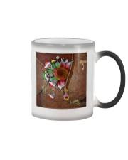 Skull Sunflower Christmas Color Changing Mug thumbnail