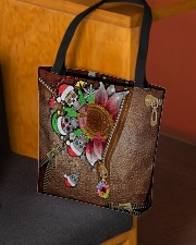 Skull Sunflower Christmas All-over Tote aos-all-over-tote-lifestyle-front-02