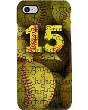 Softball Phone Puzzle Phone Case Phone Case i-phone-8-case
