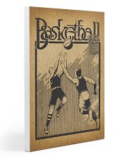Baketball Vintage Poster 20x30 Gallery Wrapped Canvas Prints thumbnail