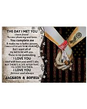 Custom Native The Day I Met You 17x11 Poster front