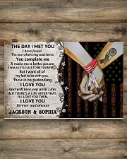 Custom Native The Day I Met You 17x11 Poster poster-landscape-17x11-lifestyle-14
