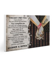 Custom Native The Day I Met You Gallery Wrapped Canvas Prints tile