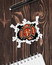 Firefighter Crack Sticker - Single (Horizontal) aos-sticker-single-horizontal-lifestyle-front-05
