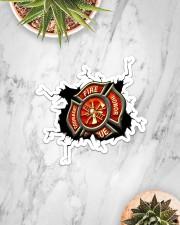Firefighter Crack Sticker - Single (Horizontal) aos-sticker-single-horizontal-lifestyle-front-06