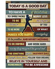 Softball - To Day Is Good Day 11x17 Poster front