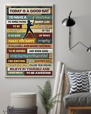 Softball - To Day Is Good Day 11x17 Poster lifestyle-poster-1