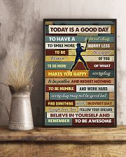 Softball - To Day Is Good Day 11x17 Poster lifestyle-poster-3