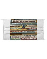 Softball - To Day Is Good Day Mask tile