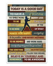 Softball - To Day Is Good Day Sticker tile