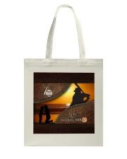 Baseball Mom Sunset Tote Bag tile