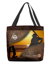Baseball Mom Sunset All-over Tote front