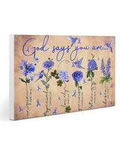 Diabetes v1 - God Says You Are 30x20 Gallery Wrapped Canvas Prints thumbnail