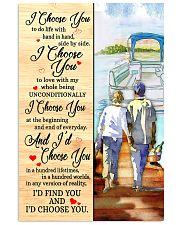 Pontoon Love I Choose You 11x17 Poster front