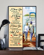 Pontoon Love I Choose You 11x17 Poster lifestyle-poster-2