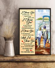 Pontoon Love I Choose You 11x17 Poster lifestyle-poster-3
