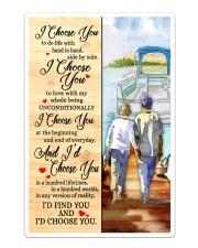 Pontoon Love I Choose You Sticker - Single (Vertical) thumbnail