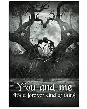 Skull - You And Me Poster 11x17 Poster front