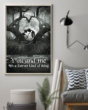Skull - You And Me Poster 11x17 Poster lifestyle-poster-1