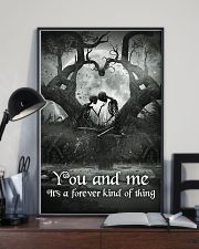 Skull - You And Me Poster 11x17 Poster lifestyle-poster-2