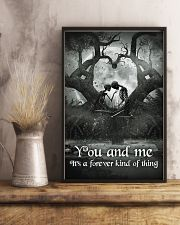 Skull - You And Me Poster 11x17 Poster lifestyle-poster-3
