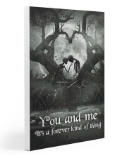 Skull - You And Me Poster Gallery Wrapped Canvas Prints tile