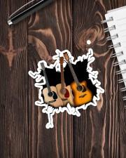 Guitar  Crack V1 Sticker - Single (Vertical) aos-sticker-single-vertical-lifestyle-front-05