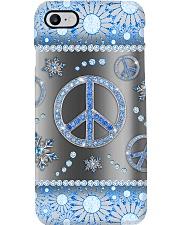 Hippie - Blue Phonecase Phone Case i-phone-8-case
