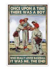 Baseball Once Upon A Time Sticker tile