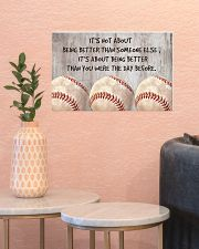 Baseball - Being Better 17x11 Poster poster-landscape-17x11-lifestyle-21
