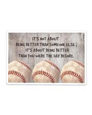 Baseball - Being Better Sticker tile