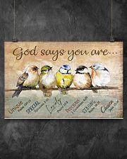 Birds God Says You Are 17x11 Poster poster-landscape-17x11-lifestyle-12