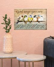 Birds God Says You Are 17x11 Poster poster-landscape-17x11-lifestyle-21