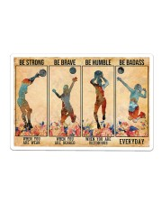 Volleyball - Be Strong Sticker tile