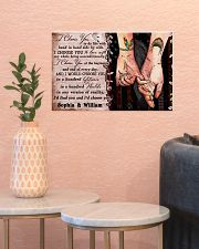 Personalized Native American - I Choose You 17x11 Poster poster-landscape-17x11-lifestyle-21