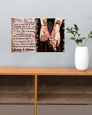Personalized Native American - I Choose You 17x11 Poster poster-landscape-17x11-lifestyle-24