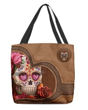 Skull Tote Bag All-over Tote front