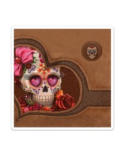 Skull Tote Bag Sticker - Single (Vertical) thumbnail
