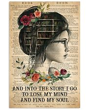 Book - And Into The Story I Go  11x17 Poster front