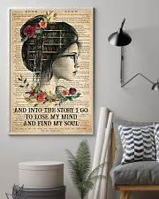 Book - And Into The Story I Go  11x17 Poster lifestyle-poster-1